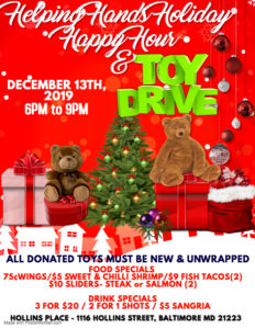 Holiday Happy Hour and Toy Drive